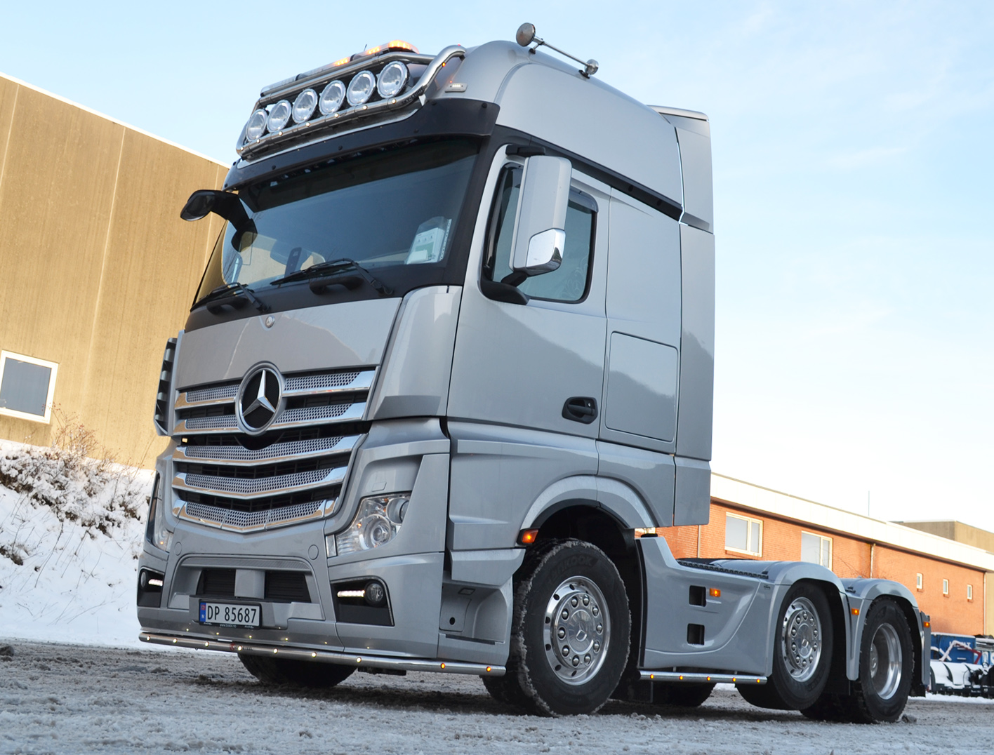 Mercedes opbygning