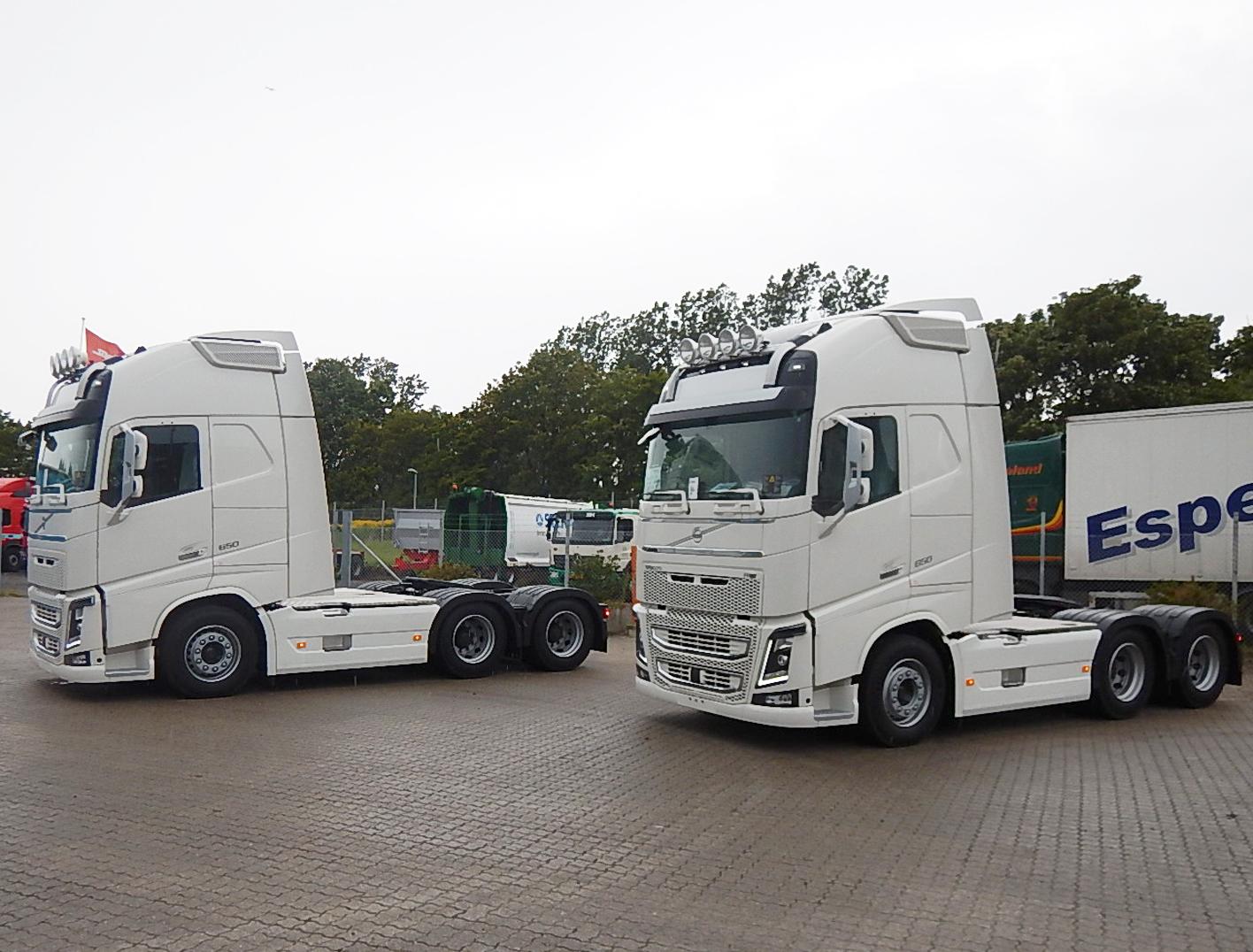 Konceptbiler hos Stiholt - også Volvo trækkere