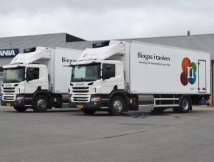 Få lavet en Scania med naturgas som brændstofmiddel