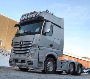 Norsk Mercedes Benz bestilte denne flotte opbygning hos Stiholt opbyg til show i 2016 gennem hele Norge