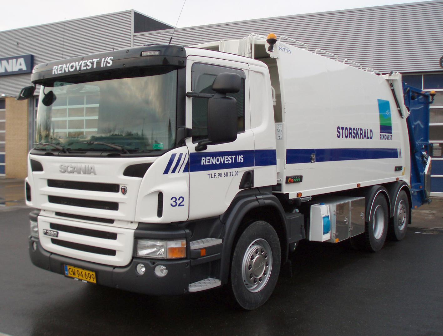 Opbygning af NTM renovations aggregater på din lastbil