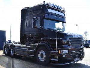 """Man er henstilt til forgangne tider med en Scania """"langsnude"""", ikke desto mindre opbyggede vi en Scania """"T"""" 730 LA 6X4 i marts 2016"""