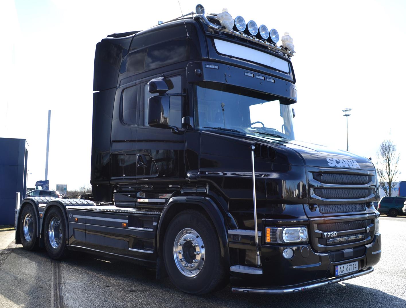 Man er henstilt til forgangne tider med en Scania