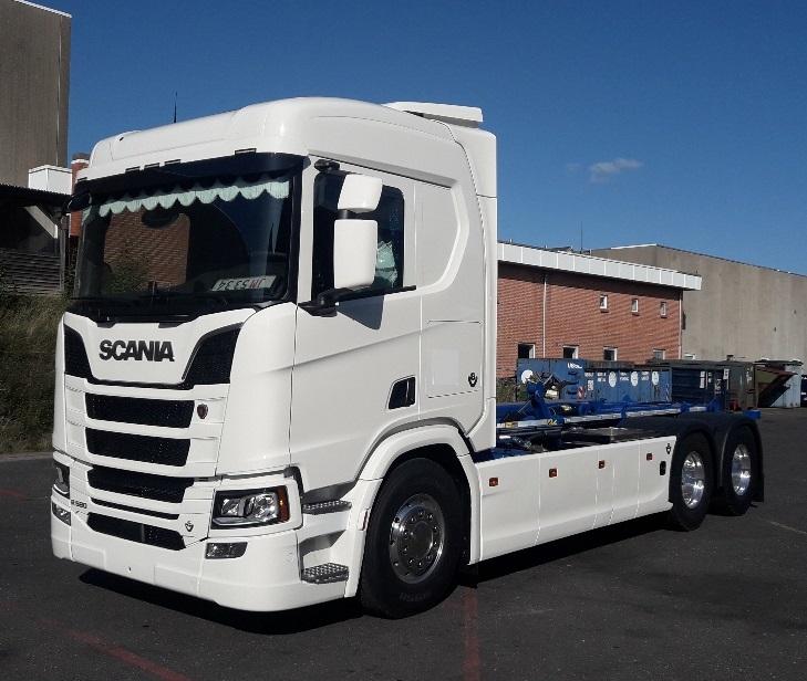Scania Opbygninger