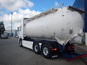 Scania tankbil