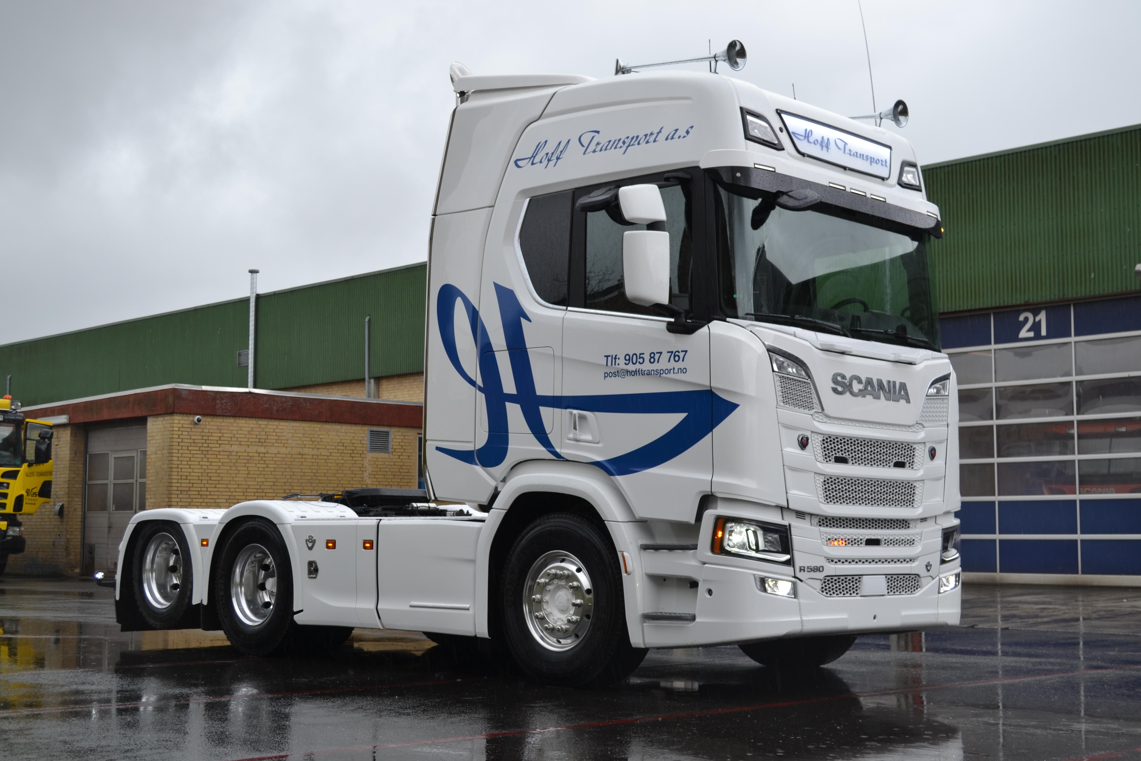 Scania opbygning i Danmark